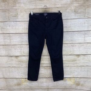 NEW NYDJ Ami Skinny Leg Black Stretchy Jeans